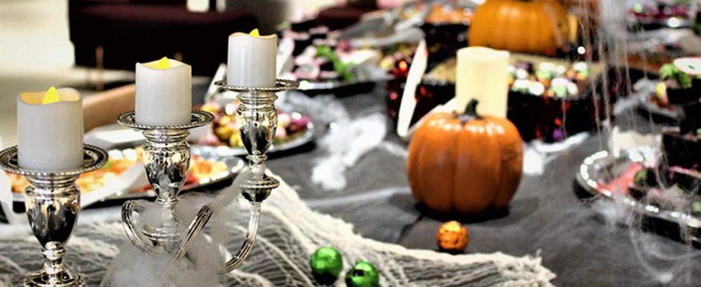 ハロウィンパーティーはおまかせケータリングで楽しむ! オフィス内をまるごとホラーハロウィンに大変身!