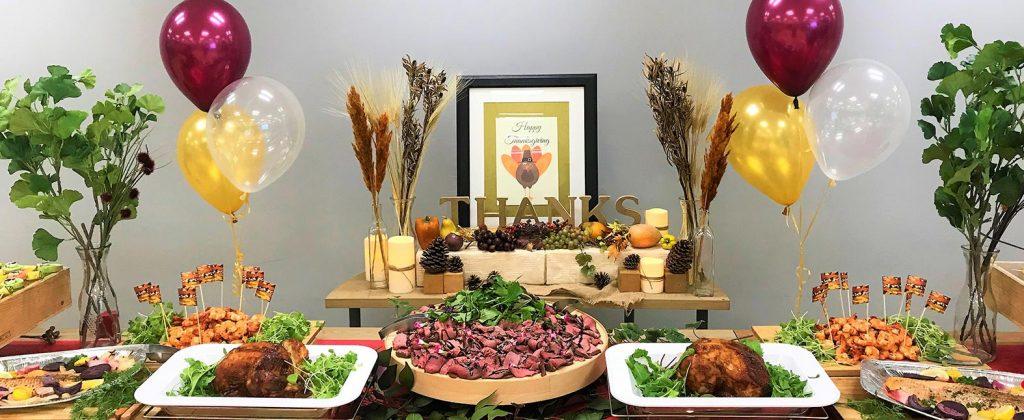 秋の味覚満載!感謝祭ケータリング!旬の食べ物とボジョレー・ヌーヴォーの飲み比べを満喫
