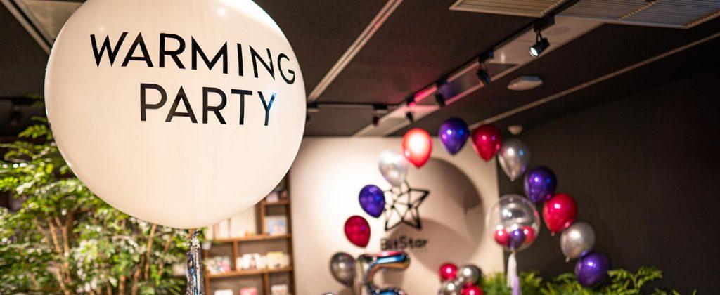 オフィス移転パーティー&新年会!オリジナリティーを重視した華やかなパーティ―事例